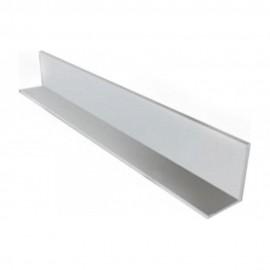 Угол накладной ПВХ (10*10*3000). Белый