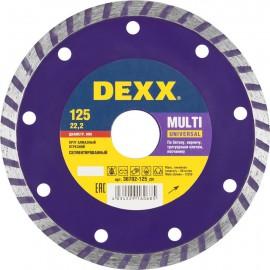 Диск отрезной алмазный DEXX 115*7*22,2мм сегментный