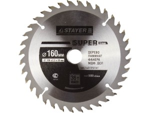 Диск пильный STAYER MASTER SUPER-Line 160*20мм 36Т
