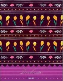 Дневник для старших классов 5-11 ИО, Альт, выборочный лак, фольга, для девочек, Французская коллекция 10009/05